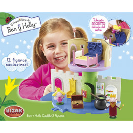 BEN & HOLLY CASTILLO + 2 FIGURAS