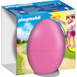 Huevo de Pascua, Camarera con Mostrador de Playmobil