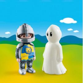 Caballero con Fantasma de Playmobil 1.2.3.