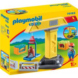 Grua de Playmobil 1.2.3.