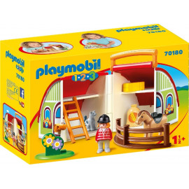 Mi Primera Granja Maletín de Playmobil 1.2.3.