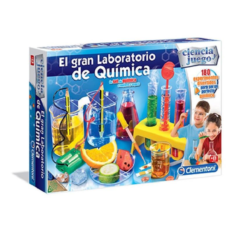 EL GRAN LABORATORIO DE QUIMICA