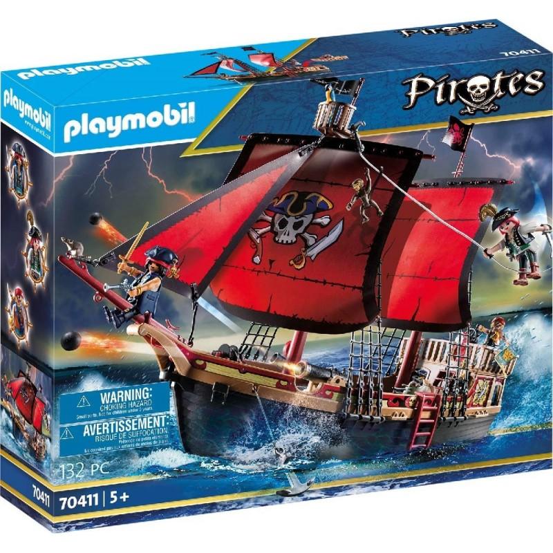 Barco Pirata Calavera de Playmobil