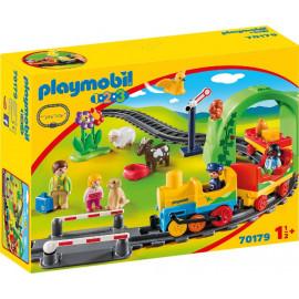 Mi Primer Trans Playmobil 1,2,3.