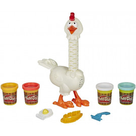 PLAY DOH PLUMAS DIVERTIDAS