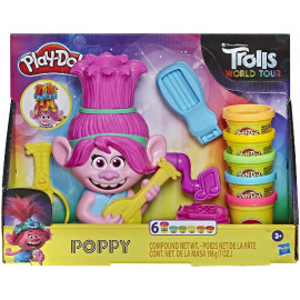 PLAY DOH TROLLS POPPY