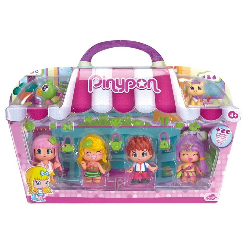 PIN Y PON CITY PACK 4 FIGURAS
