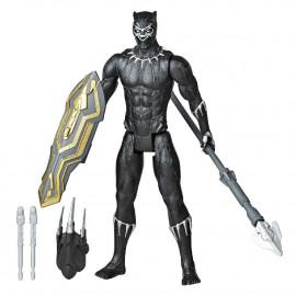AVENGERS - FIGURA TITAN CON ACC. BLACK PANTHER